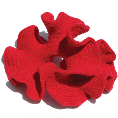 Crocheting hyperbolic planes - Cornell Chronicle Online