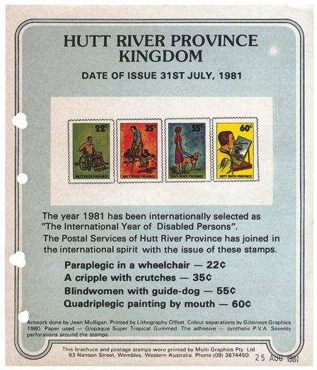 CABINET // Hutt River Province Principality