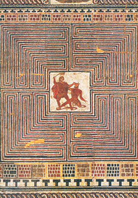 Thesis and the minotaur mazes