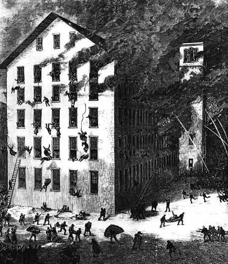 Fall River factory fire of 1874.