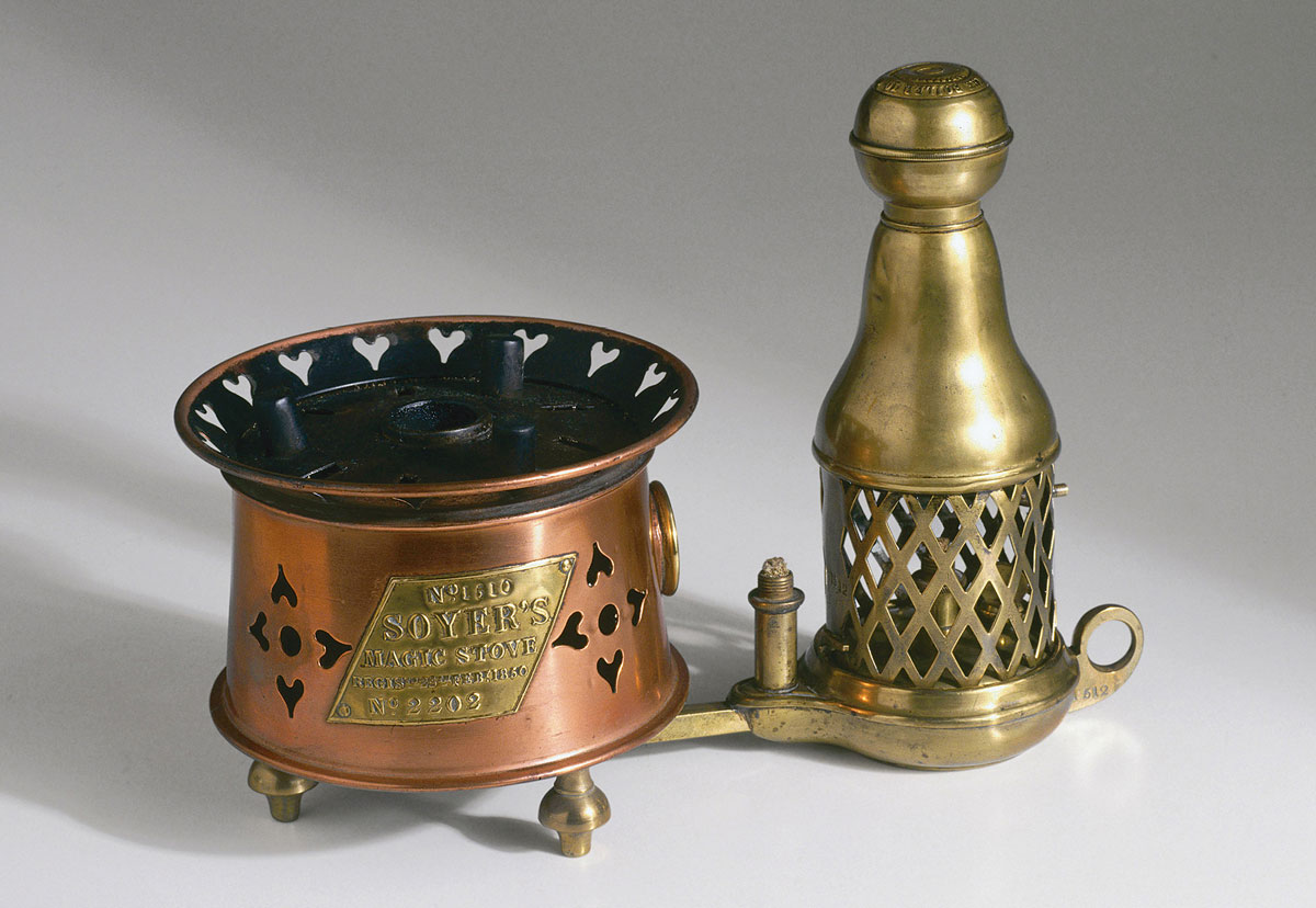 Soyer S Magic Stove This Second Version Was Patented In 1850 Courtesy Science And Society Picture Library