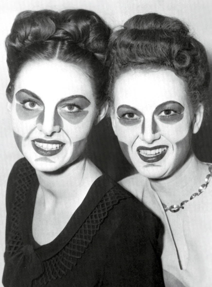 Makeup developed in the 1940s by Max Factor, Jr., for black-and-white television. Previously, makeup developed for panchromatic film had also been used for ...